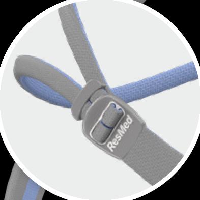 ResMed N30 QuickFit Headgear adjust