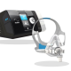 ResMed AirSense™ 10 AutoSet Deluxe CPAP Bundle-AirTouch™ F20 Memory Foam Full Mask/AirFit™ F20 Full Mask